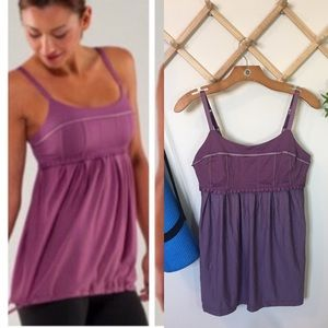 Lululemon | Pritti tank Purple